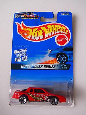 Hot Wheels1996 QUICKSILVER SERIES 1/4 T-BIRD CHEVY STOCKER HURRICANE LOGO](T Bird Logo)