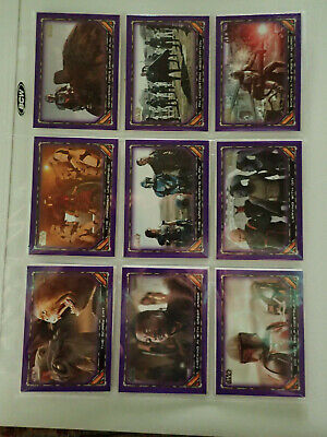 2020 Topps Mandalorian Season 1 Purple Parallel Lot of 20
