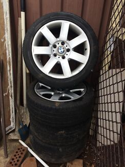 BMW Wheels series 3  Prestons Liverpool Area Preview