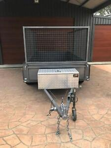 Trailer with Cage 10 x 5
