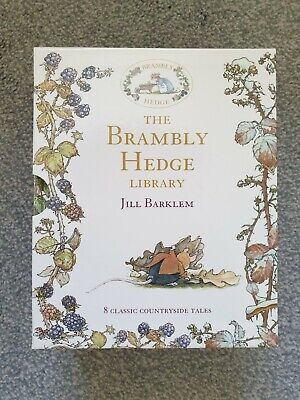BN *Brambly Hedge* Library Collection set of 8 books, Jill Barklem