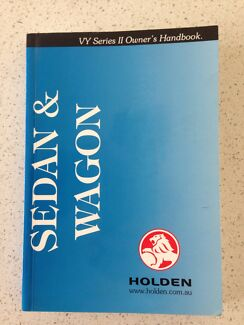 Holden Commodore VY Series II owner's handbook Kingston Kingborough Area Preview