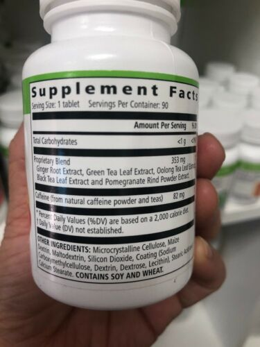 herbalife total control stimulates Metabolism Dietary Supplement EXP 2022 1
