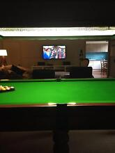 billiard / pool table and canopy light Sassafras Yarra Ranges Preview