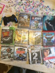 PS3 Games, Controller and Xbox 360 Games