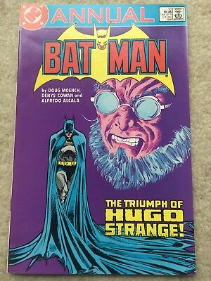 Batman Annual #10 *Final Appearance Hugo Strange*