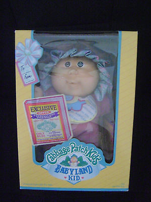 Cabbage Patch Kids Babyland Kid 1991 New In Box