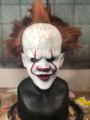 The Floater - Full Head Silicone Pennywise the Dancing Clown Mask with Hair