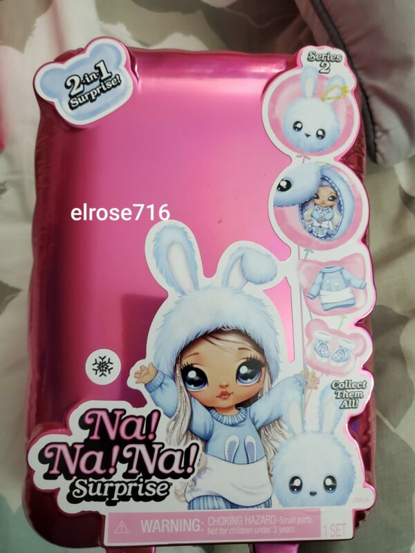 NA NA NA SURPRISE~2-IN-1 SURPRISE!~SERIES 2~FASHION DOLL + POM PURSE~NEW