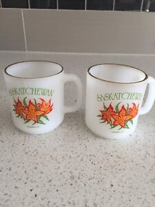 Saskatchewan collector mugs