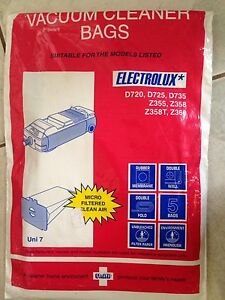 Electrolux vacuum cleaner bags x 3 Buderim Maroochydore Area Preview