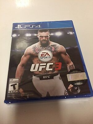 Used, EA Sports UFC 3 (Sony PlayStation 4, 2018) PS4 Brand New Sealed Region Free for sale  Shipping to Nigeria