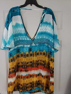 Caribbean Apparel (Hawaiian Tropic Apparel Women's Caribbean Sea Shirt Size M)