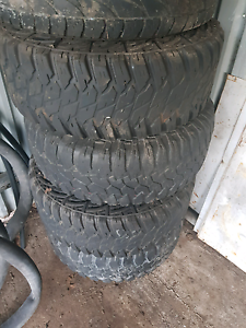 305 70 r16 mud tyres Waterford West Logan Area Preview