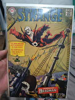 Strange Adventures 205 comic First Deadman. Key Book