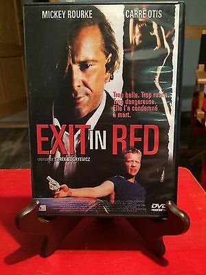 DVD - Exit in red - Mickey Rourke - Carre Otis