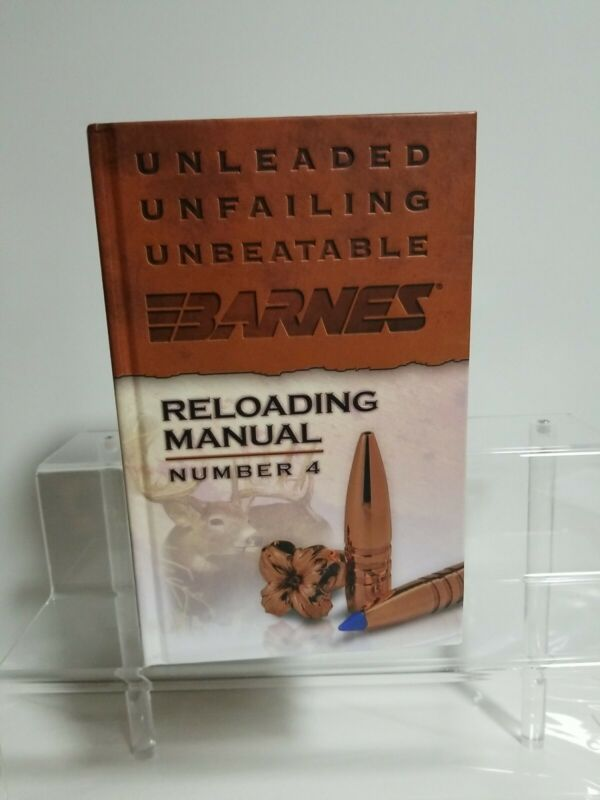 New Barnes Reloading Manual Number 4  Free SHIPPING