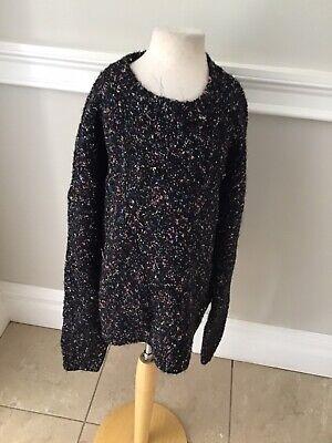 Caroline Bosmans Tweed Sweater Top 18 Nwt