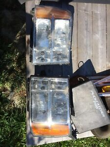 2013 GMC TRUCK OEM headlights