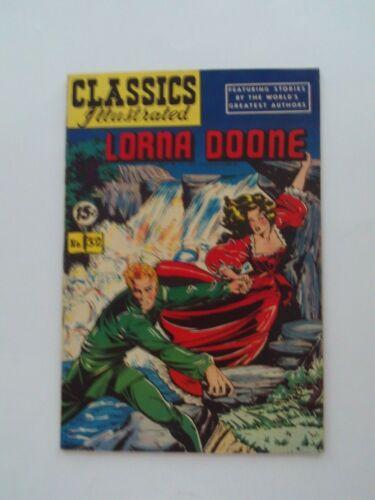 Classics Illustrated #32 - LORNA DOONE - HRN 85 VG