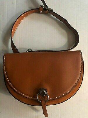 NWT Zara Contrasting Leather Belt Bag