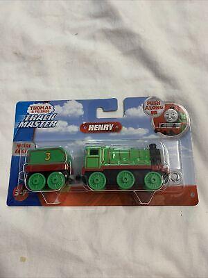 Thomas & Friends GDJ55 Trackmaster Large Push Along Henry Diecast Train Engine