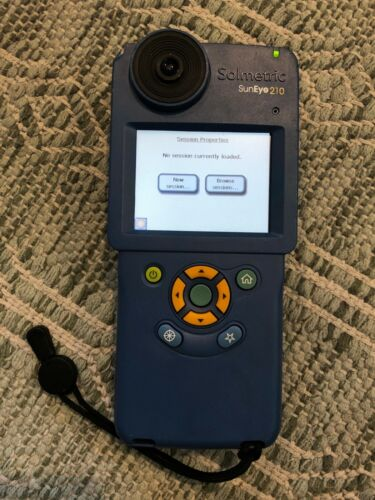 Solmetric SunEye 210 Solar Analyzer w/hard case
