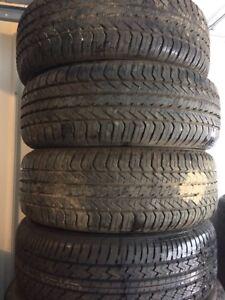 4 pneus été 195 60 15