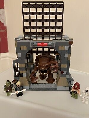 LEGO Star Wars 75005 Rancor Pit 100% Complete With Mini Figures & Instructions