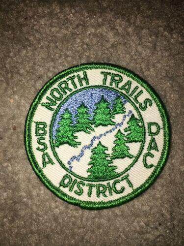 Boy Scout BSA Detroit Area Michigan North Trails District DP CP Council Patch