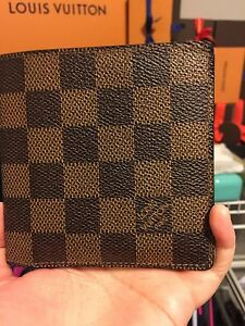Louis Vuitton Damier Ebene Porte Billets wallet
