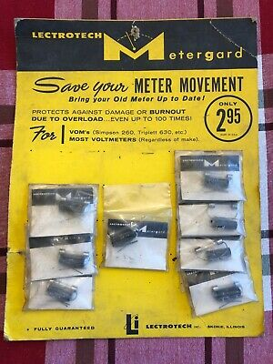 9 Metergargs For Voms Simpson 260 Triplett 630 Etc. Protects Most Voltmeters.