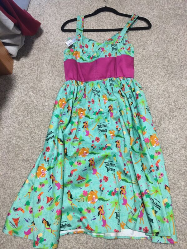 Rare Disney Dress Shop Tahitian Terrace Small New with tags D23 expo