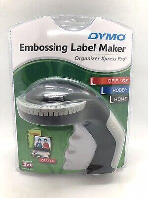 Dymo Embossing Label Maker Organizer Express Pro Brand New