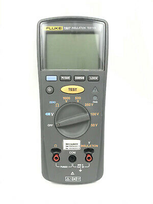 Fluke 1507 Insulation Resistance Tester No Power As Is For Parts Or Repair