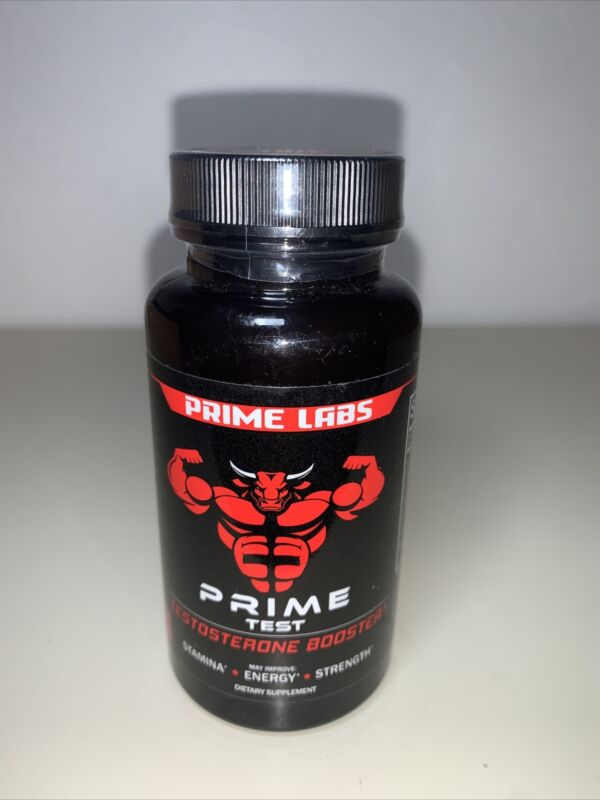 Prime Labs Testosterone Booster Stronger Granite Natural Test Boost 60 Caps 4/21