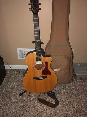 Taylor 214ce Acoustic/Electric Guitar W/ Gig Bag