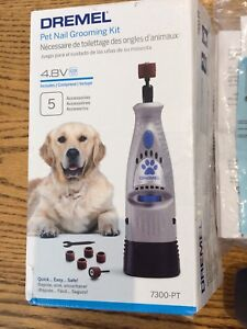 Dremel Cordless Pet Nail Grooming Kit - New