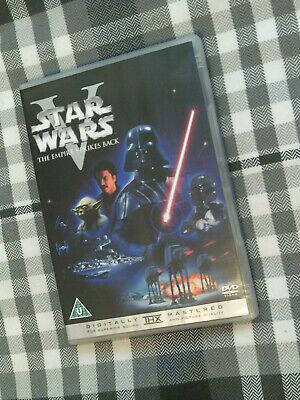 STAR WARS V THE EMPIRE STRIKES BACK DVD REGION.2 UK
