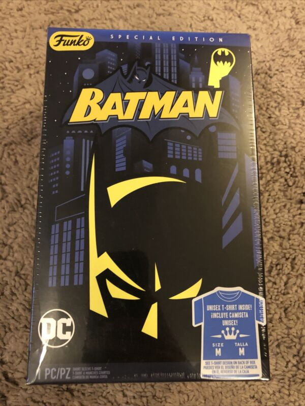 "Funko DC: Batman ""Special Edition"" Short Sleeve T-Shirt - Unisex M - Sealed!"