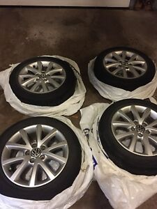 OEM VW 205 55 16 Rims and tires