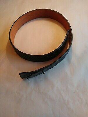 Brass Size 56 Gould /& Goodrich Lined Duty Belt Black Weave