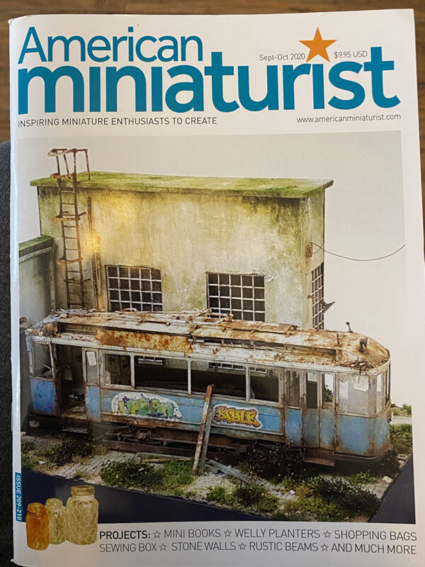 American Miniaturist Magazine Sept Oct 2020 #209-#210