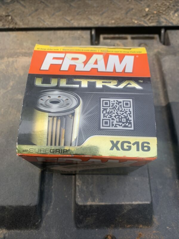 FRAM Ultra Synthetic XG16, 20K Mile Change Interval Spin-On Oil Filter with...