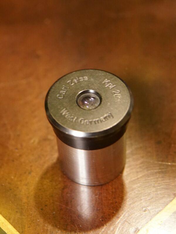Rare Vintage Carl Zeiss Kpl 20X Microscope Eyepiece