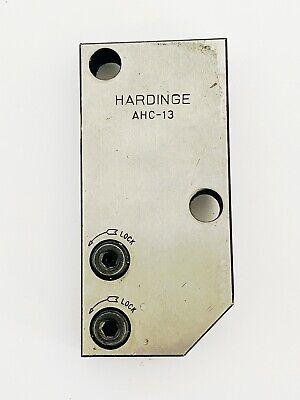 Hardinge Ahc-13 Cutoff Tool Holder For Vertical Slide Cut-off Usa Ahc13