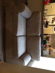 2 Seater Brown Couch -good condition North Strathfield Canada Bay Area Preview