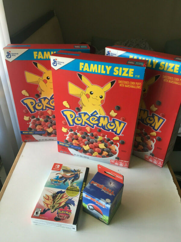 Pokemon Cereal - Berry Bolt - Promo - Unopened