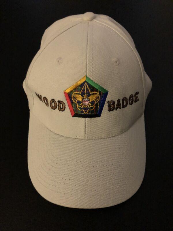 Boy Scout BSA Wood Badge Adjustable Cap Hat