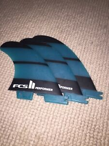 FCS performance surfboard fins